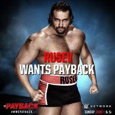 WWE Payback 2014, Rusev
