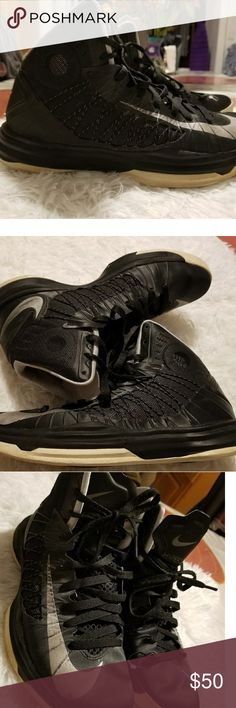 NIKE HYPERDUNK Black/Grey Hyperdunk. Good condition. Nike Shoes Sneakers