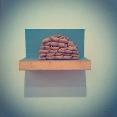 La trinchera, 2012. En Galeria Birimbao, Sevilla