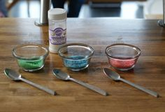 dye sugar crystals yourself = custom colors and you can use natural dyes