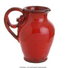 ~ red jug ...