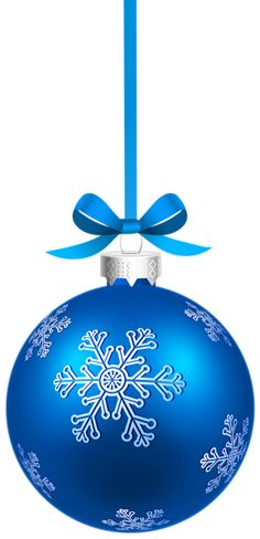 Blue_Christmas_Hanging_Ball_with_Snowflakes_PNG_Clipart_Image.png (290×600)
