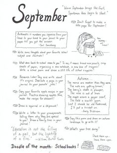 Book of Shadows:  #BOS Journal page ~ September.
