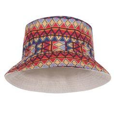 51eb2e250fc Aztec Peru Design Printed Bucket Hat Peru