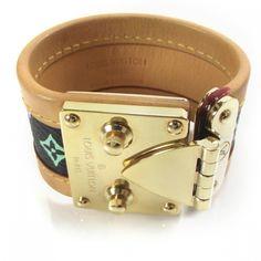 Louis Vuitton Multicolor Surrure S Lock Bracelet in black...