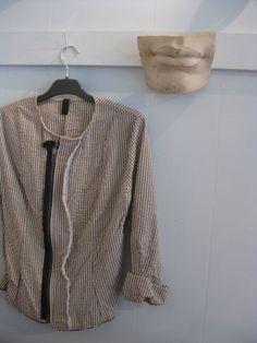 corey & co. seersucker jacket, front