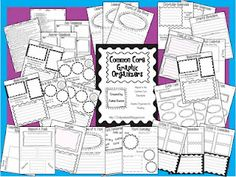 Common Core Graphic Organizers for Second Grade   # Pinterest++ for iPad #