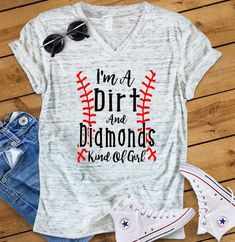 This listing includes one UNISEX short sleeve tee with custom printed Dirt & Diamonds design with a vintage look. We absolutely love this brand of tee's… They will not shrink and hold up great for daily wear. The material is incredibly soft and the design is dyed into the fabric. No
