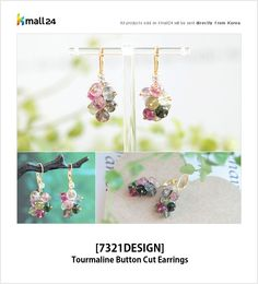 Finishing your fancy summer look with the gorgeous earrings! ▶ Shop here : http://bit.ly/1FDZvhs Kmall24 #SummerLook #Earrings #Tourmaline #Accessories