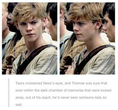 I should change the name of this board to Thomas Brodie sangster