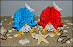 origami modułowe, origami, perler beads, wiklina papierowa, handmade, rękodzieło, kursy, tutoriale, mikaglo origami, blog z origami
