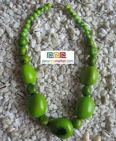 Necklace made with seed beads from the Amazon Rainforest region Peru Brazil Eco Jewelry Tagua nuts, bombona seeds and Acai beads US $ 21.90 free shipping from peruincamarket