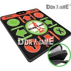 Dance Dance Revolution DDR Super Deluxe Xbox Dance Pad w/1 in foam Version 2.0