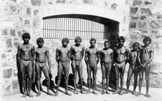 Roebourne Prison inmates - for crimes like 'absconding' from 'blackbirding' - slavery Aboriginal Culture, Aboriginal People, Aboriginal Man, Australian Aboriginal History, Australian Aboriginals, Prison Inmates, Nation State, Charles Manson, Black History Facts
