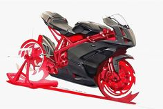 Nothing beats a classic marker rendering - Ducati 999 done in 90 minutes by Anthony Colard