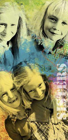 Famart Memorie: Inspiratie Familiecollage Familie Kunst