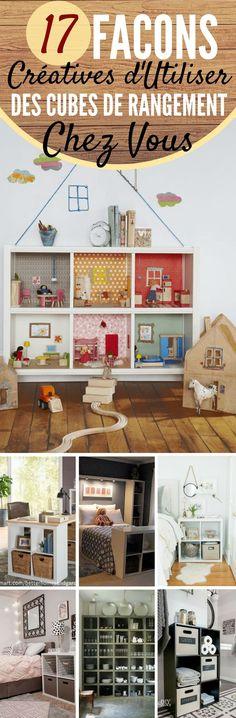 Les cubes de rangements sont très populaires en ce moment, car ils sont très efficaces pour avoir une maison bien organisée. Voici 17...