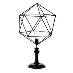 Bobo intriguing objects geometric wire table lamp pentagon bobo intriguing objects geometric wire table lamp triangle greentooth Images