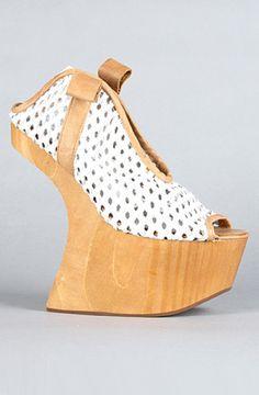 Giuseppe Zanotti gold heel less platforms > Shoeperwoman