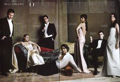 glamourous group shoot
