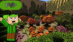Mushroom PvP Map For Minecraft PE 0.13.0 - http://minecraftpedownload.com/mushroom-pvp-map/