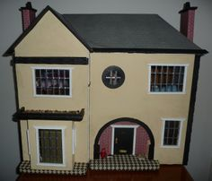 1940's House by Wendy Stephen - Dolls' Houses Past & Present