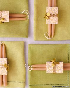 CANDLE WEDDING FAVORS Beeswax candles and personalized matches are a simple and thoughtful gift for your guests. Choose candles,...