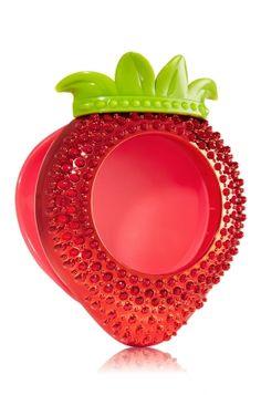 Studded Strawberry Scentportable Holder - Slatkin & Co. - Bath & Body Works