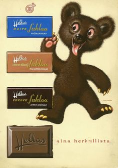 Old Advertisements, Advertising, Teenage Years, Kakao, Old Toys, Old Pictures, Product Design, Finland, Nostalgia