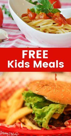 List of free or cheap kids meals at fast food places or nicer restaurants to help you get the best deal on your meals.