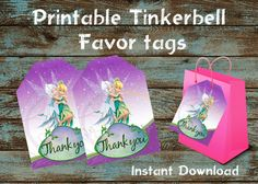 15 Tinkerbell Fairy Legend of the Neverbeast Stickers Kid Party Bag Favor Supply