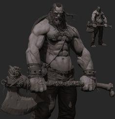 ArtStation - Forhallen, the Demon Slayer, Johnny Rampant