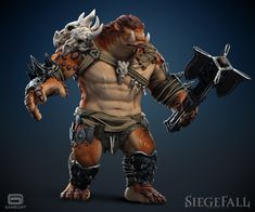 ArtStation - Siegefall - troll, Alexandre Proulx Audy
