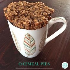 Oatmeal Pie for Breakfast — Brittany Suell Oatmeal Pie, No Sugar Foods, Sugar Free Recipes, Free Food, Clean Eating, Frozen, Yummy Food, Snacks, Meals