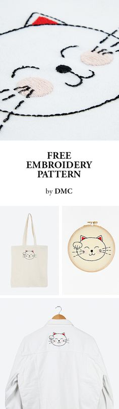 FREE EMBROIDERY PATTERN by DMC.