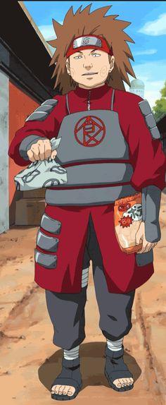 30 DAY NARUTO CHALLENGE day ten: annoying male character    • choji akimichi. sorry but there's just nothing that i like about him, so when he comes on screen all i can do is groan