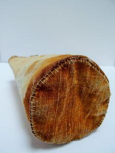Jule Mallett - rust dyed cloth vessel