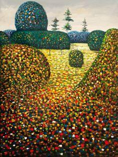 Gustav Klimt「Field of poppies」(1907)