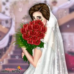 Image may contain: 1 person, text Mother Daughter Art, Mother Art, Lovely Girl Image, Cute Girl Photo, Black Bridal Dresses, Studying Girl, Sarra Art, Girly M, Cute Couple Art