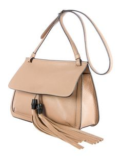 GABRIELLE'S AMAZING FANTASY CLOSET | Gucci Bamboo Daily Leather Shoulder Bag |