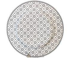 GreenGate Tallerken - Plate - Alba Pale Grey Green Gate Tallerkener