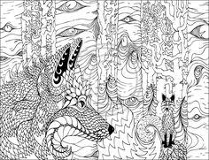 Hidden forest