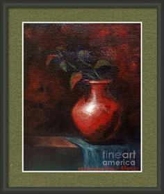 Still Life Framed Print By Asha Sudhaker Shenoy. (Fineartamerica watermark will not appear on any of the prints)