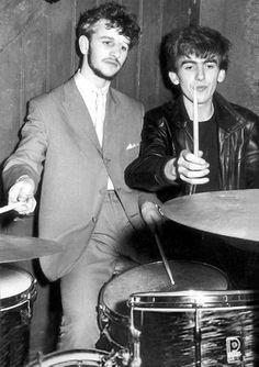 Ringo Star and George Harrison
