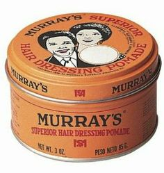 DDI Murrays Superior Hair Dressing Pomade – Case of 36 Grease Hairstyles, Quick Hairstyles, Wig Hairstyles, Superior Hair, Hair Pomade, Hair Fixing, Formula Cans, Hair Wax, Dry Hair