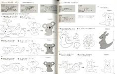 Easy Kawaii Felt Handmade Mascots Japanese Craft Book | eBay