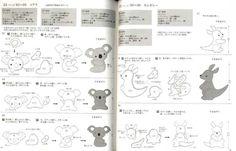 Easy Kawaii Felt Handmade Mascots Japanese Craft Book | eBay