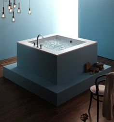 Shop For The Kohler White Drop In Cube Soaking Bath Tub From The Underscore  Collection And Save.
