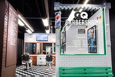 GQ's Stadium Barber Shop Offers Brooklyn Sports Fans A Quick Trim - PSFK