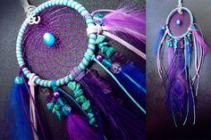 Dreamcatcher, bohemian dreamcatchers, dreamcatcher necklace, feather dreamcatcher